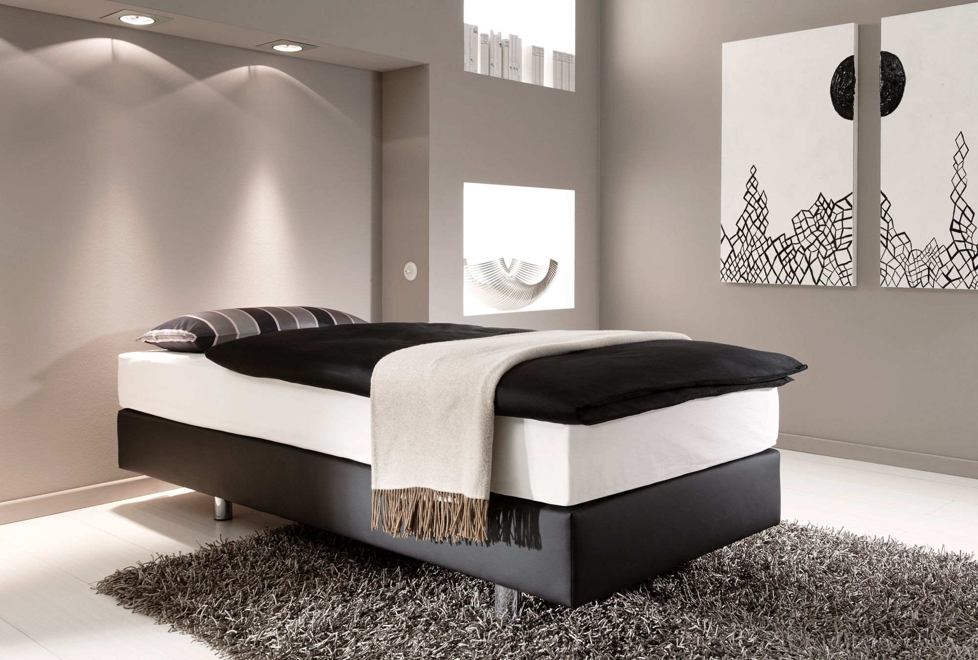 boxspring couture ein programm f r h chsten schlafkomfort. Black Bedroom Furniture Sets. Home Design Ideas