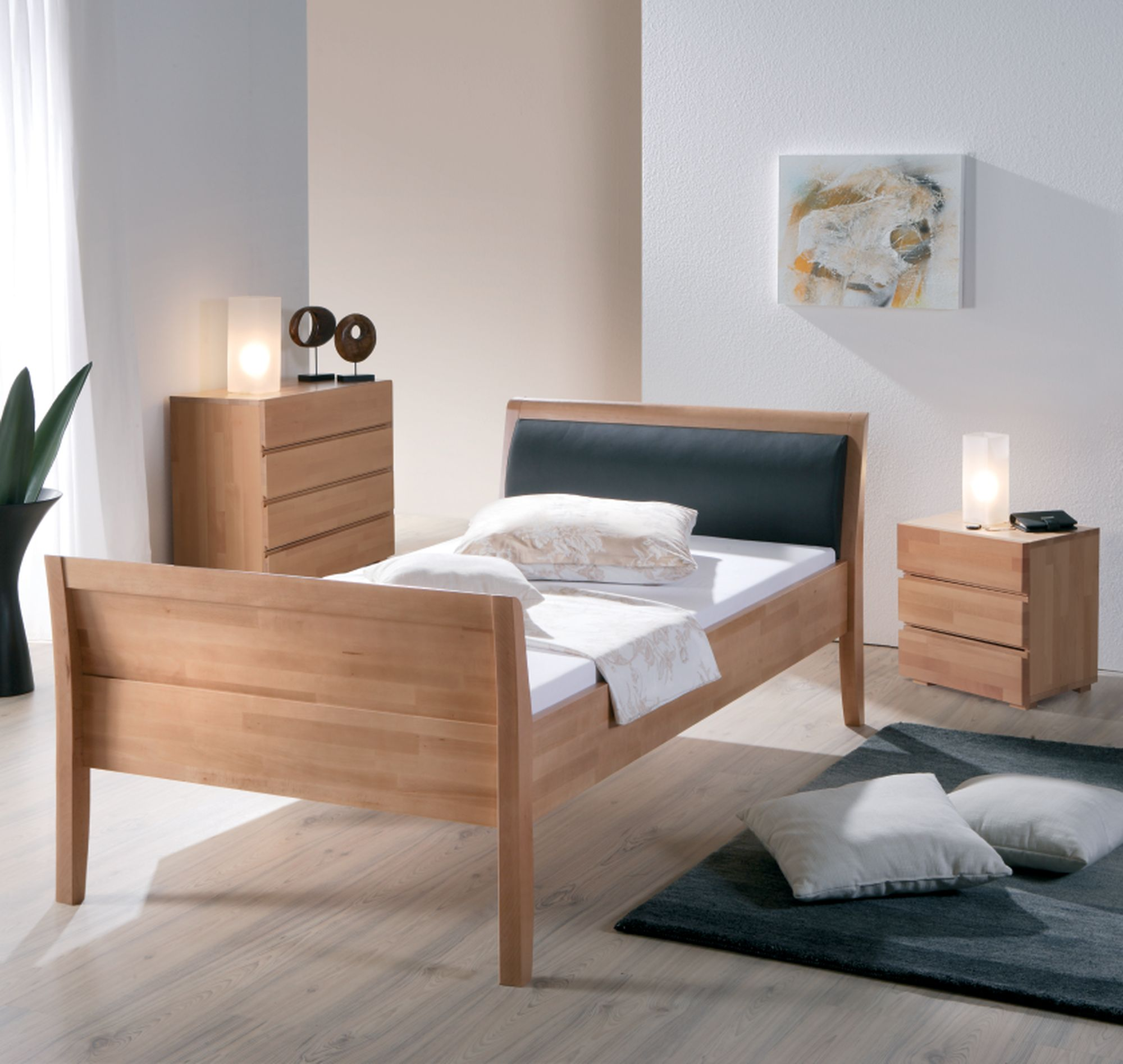 moderne betten schlaffabrik. Black Bedroom Furniture Sets. Home Design Ideas